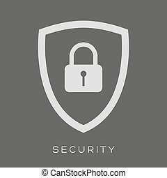 Security icon - Shield lock