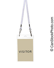 Security ID Pass for visitor