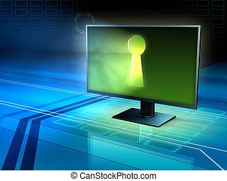 security internet, og, privatliv