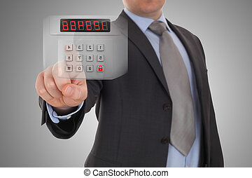 security kode, alarmer system
