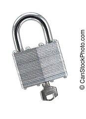 Security Lock - A close up shot of a security lock