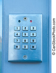 security lock - electric door lock, can be opened by...