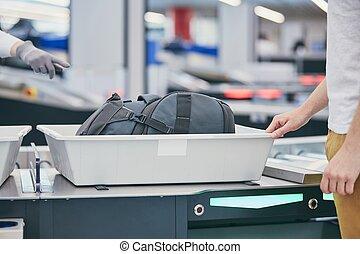 security lufthavn, check