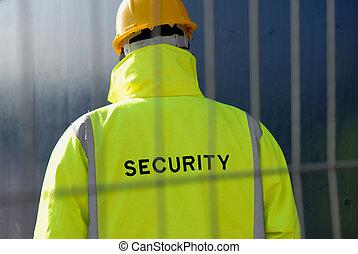 Security Man.