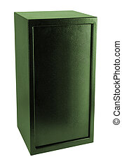 Security metal safe isolated