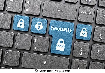 Security on keyboard