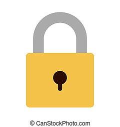 security padlock icon