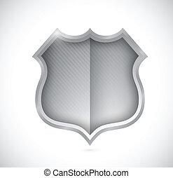 security shield illustration design