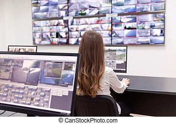 Security system operator - Control room operator
