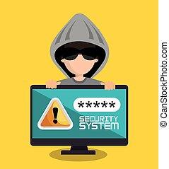 security system password hacker