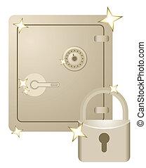 Security treasury - Creative design of security treasury