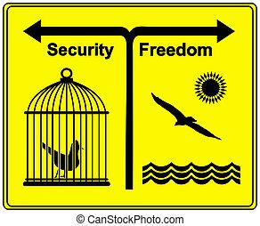 Security versus Freedom