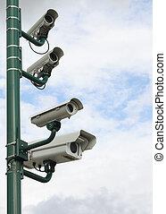 Security Video Camera - Surveillance security video camera...