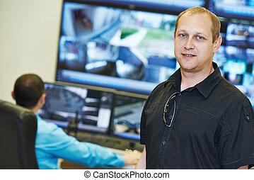 Security video surveillance chief - security executive chief...