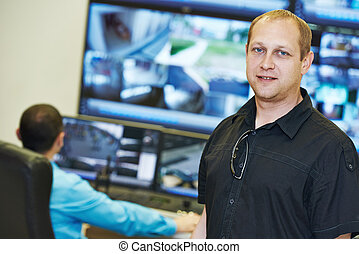 Security video surveillance chief