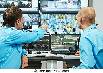 Security video surveillance - security executive chief...