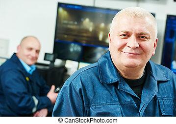Security video surveillance team