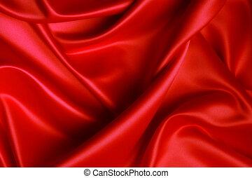 seda, rojo