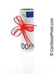 sedel, euro