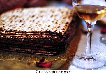 seder, pâque, dîner, célébrations
