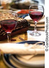 seder, pascha, obiad, celebrowania