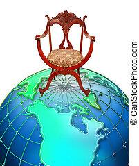 sedere, cima, il, world.