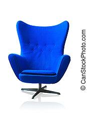sedia blu, moderno