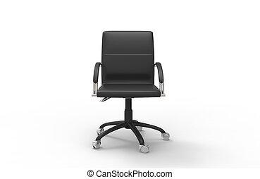 sedia cuoio, ufficio