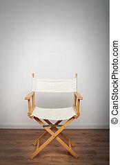 sedia, riflettore