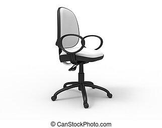 sedia ufficio, bianco