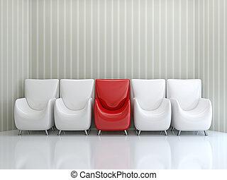 sedie, fila