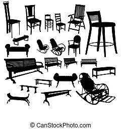 sedie, set