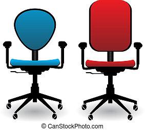 sedie, ufficio