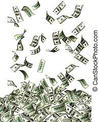 sedlar,  Dollars, flygning