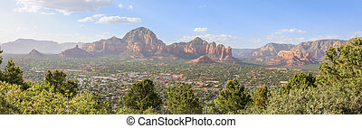 Sedona Arizona in Southwest USA - Beautiful Daytime Scenery ...