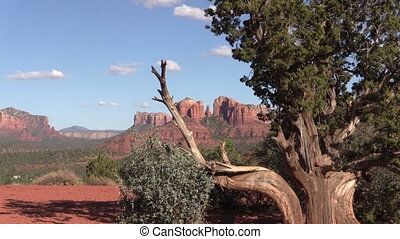 Sedona Arizona Landscape - the scenic red rock landscape of...