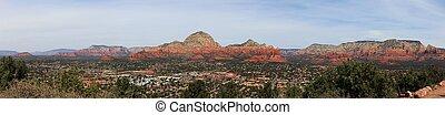 Sedona Arizona Panoramic view