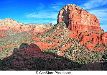 Sedona, röd,  Arizona, vagga