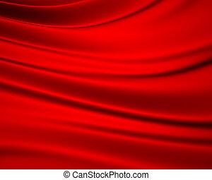 sedoso, experiência vermelha
