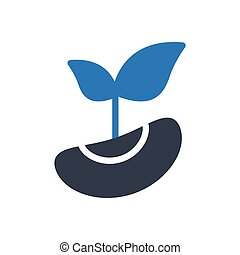 seed  glyph color icon