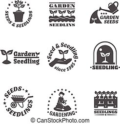 Seedling Label Set