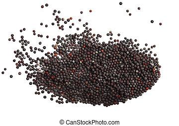 seeds, зеленый, горчичный