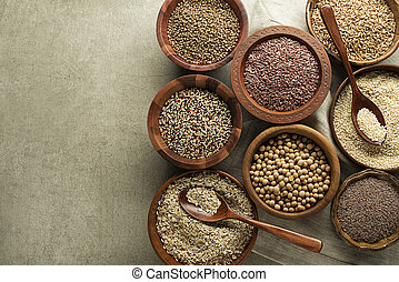 Seeds and cereals