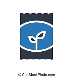 seeds  glyph color icon