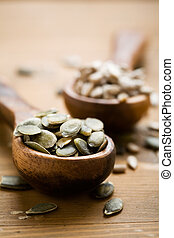 Seeds - Healthy pumpkin and sunflower seeds