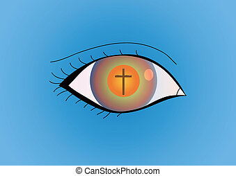 seeing the truth - christian religion wallpaper