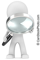 Seek. - Dude with magnifying glass.