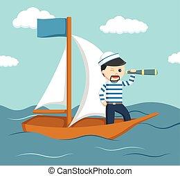 Geschenk segeln