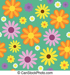 seemless, flores