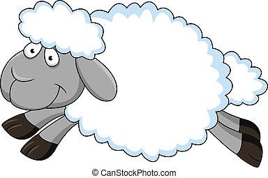 Seep Cartoon - Vector Illustration Of Seep Cartoon